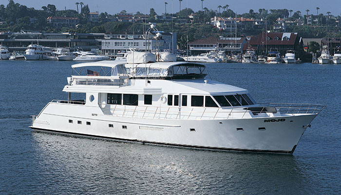 luxury yachts are ideal venues along the coast