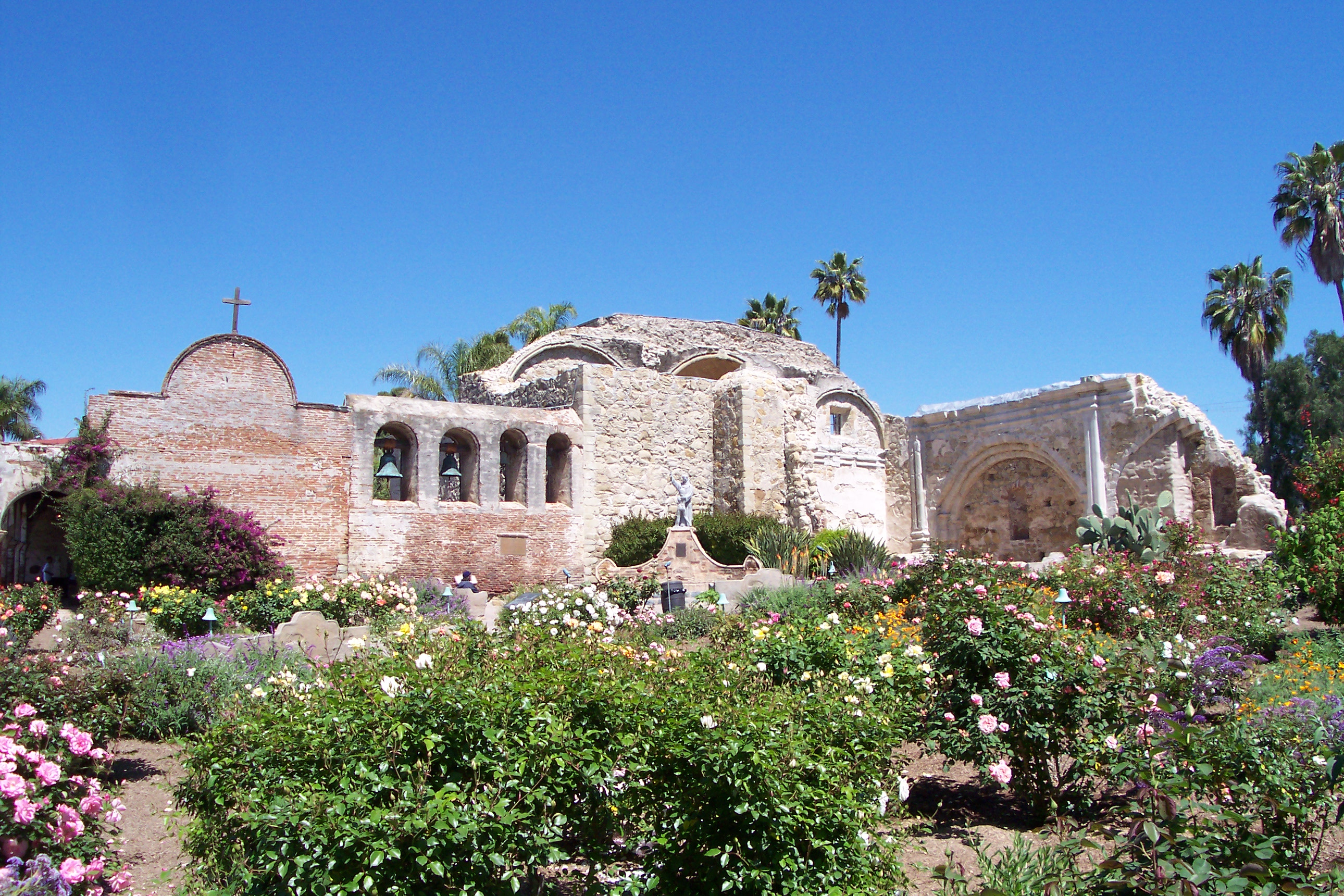 Mission San Juan Capistrano an idéal venue along the coast